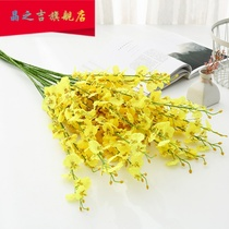 10 tie-up living room ornaments simulation flower dance orchid high-quality flower decorative flower table to welcome spring flower butterfly orchid