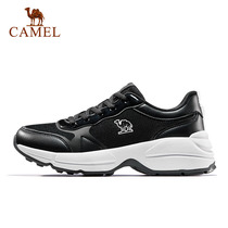 Camel casual shoes female 2019 new spring trend fashion sports shoes classic retro non-slip mesh mens shoes