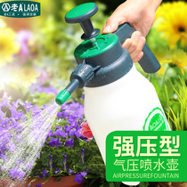 Old a home watering can pneumatic spray pot gardening watering watering watering can Car Wash pot collar coupon discount