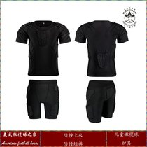 Rugby childrens elbow-guard knee-proof anti-collision pants