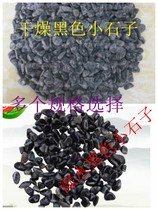 Ground washed black stone rice Garden black exterior washed stone terrazzo rice black coarse sand sand pebbles