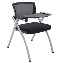 Zhongyi simple writing board folding training chair office chair Staff Chair multi-function movable one conference chair