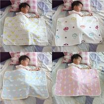 Simple out wrapped baby belly napping list cover baby belly belly scarf gauze small blanket creative cover is small.