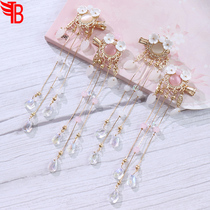 Childrens antique Chinese wind ornament skimming girls han clothes hair clip step shake public mainstream Su to clip fairy gas