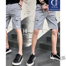 DJS shorts male new 2019 summer five pants male casual beach pants mens five division dress shorts students
