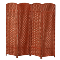 Hôtel Chinese folding straw screen cut off fashion folding screen salon chambre restaurant mobile screen entrée simple