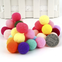 ChildrenS DIY creative handmade materials decorative color high-elastic hair ball size plush Ball Ball Ball gold onion mixed