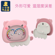 Little White Bear flagship store baby room room temperature meter humidity meter two-in-a temperature and humidity meter piggy 09222