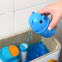 Bear Blue Bubble toilet cleaner toilet cleaner household toilet with deodorant to smell the fragrance type descaling