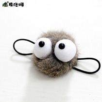 PLUMO piroum cute cute cartoon Hair Ring head rope hair ornaments ball girl rabbit fur handmade rubber band plush tease