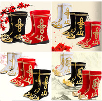 New National Dance Dance boots boots male Tibetan dance boots female Mongolian dance boots drama boots dance shoes women boots