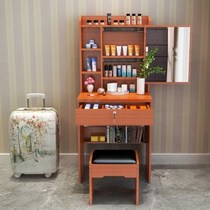 Hot-selling dresser bedroom Assembly dresser mini small apartment make-up table modern minimalist make-up cabinet 60CM