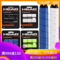Hyde HEAD breathable wear dry badminton tennis hand rubber handle leather sweat with a card three loaded