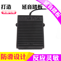 Sustain pedal electric piano electronic piano sustain pedal line length 1 5 m interface 6 5 grater small pedal