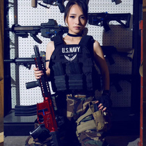 WZJP Thief-Free 6094 Tactical Vest Combat Armor Lightweight Multi-functional Special Forces Equipped With Live CS Bulletproof
