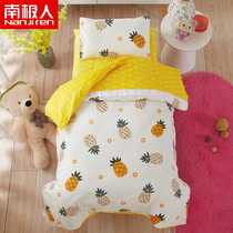 Infant six-piece childrens bedding baby nap into the garden cotton quilt cover cartoon multi-piece