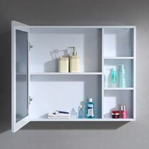 Bathroom bathroom mirror cabinet mirror with shelves hanging cabinet mirror cabinet dressing mirror toilet simple modern mirror