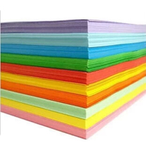 A4 paper jam 230g thick paper jam A4 noise DIY hand paper greeting card paper rectangular color copy paper Kindergarten children hand hard paper mixed about 100 sheets.