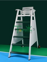 Tennis court aluminum referee chair tennis court referee chair with wheels wheels can move light