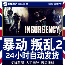 steam PC genuine Chinese rebellion rebellion 2 rebellion Insurgency Gift promotion