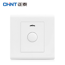 Zhengtai switch Socket NEW7D touch delay switch panel with fire protection