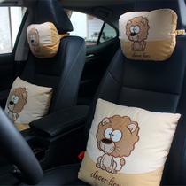 Headrest Neck Pillow Universal type Pillow pillow car headrest car pillow A pair of cars four Seasons