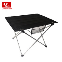 Outdoor leisure folding table and chair portable table picnic table aluminum alloy portable table ultralight aviation aluminum material