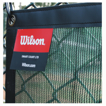 Wilson will win the tennis court equipment windproof net 3387W the whole sale