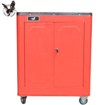 A Ming car repair tools car hardware metal storage tool cabinet double door closed accessories toolbox