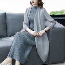 Plus size autumn middle-aged mother with a new fashion suit female foreign small coat
