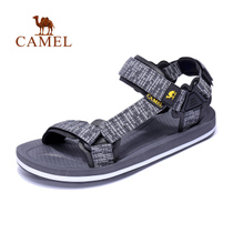 Camel outdoor casual sandals men and women Summer couple beach shoes sports tide non-slip slippers