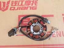 Qianjiang motorcycle QJ125-F-6A-18A octupole coil four-wire 8 DC stator coil