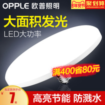 Op LED bulb high power super bright UFO lamp home super bright E27 screw energy saving lamp Workshop Workshop lighting