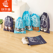 Shoe storage bag shoe bag shoe box dust bag portable transparent sportswear shoe cover bundle Pocket Travel storage bag