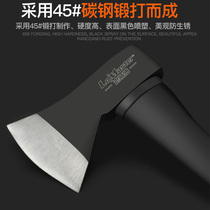 Fire axe steel Germany large firewood multi-purpose household all-steel woodworking firewood outdoor mountain axe