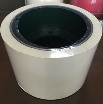 6 inch 152 * 224 White Huller rubber roller rubber roller meters playing machine special rubber roller hulling rubber roller
