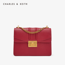 CHARLES & KEITH Bacchus CK2-20160069 vintage chain lock shoulder bag