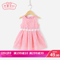 Baby skirt female baby style 1 year old 3 small children princess dress summer dress 6 girls summer dress 2019 New