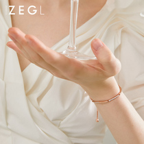 ZENGLIU niche design bracelet female ins cold wind red hand jewelry senior sense girlfriends custom jewelry