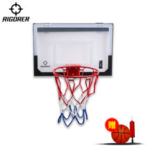 Quasi-small backboard childrens shooting training indoor outdoor home portable wall-mounted tempered glass durable rebounds