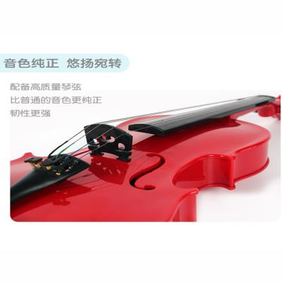 New children can play violin Beginners musical instruments Studentperform prop guitar