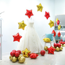 Philippine find wedding arrangement aluminum balloon heart-shaped thick aluminum balloon birthday party Wedding Room Decoration supplies