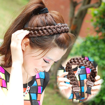 Starry Night Beauty wig twist braids hair hoop wig hair band large twist braids hair accessories tie hair