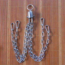 Iron chain hanging hollow solid loose boxing sandbags spinner rings carabiner universal accessories hook