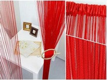 Wedding Wedding ceiling decorative ferris wheel ring fringed decorative big red white curtain curtain partition curtain