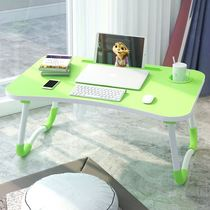 Increase the computer table on the bed with a desk folding table small table lazy table bed table simple learning table students