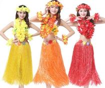 Dance costume annual meeting six one by the pro Seaweed Dance grass skirt clothing bracelet dance skirt festival neck 2019