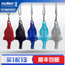 Official Monopoly molten Moten dolphin whistle volleyball football basketball game whistle physical education teacher referee whistle