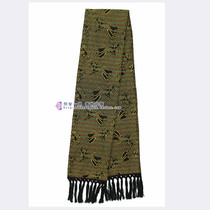 Dragon and phoenix pattern Guangxi Zhuang Jin scarf Zhuang characteristics craft supplies gifts men and women general with gift box