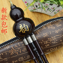 Bakelite resin double-tone wire gourd gourd Xiao Jiang B tune C tune beginner national musical instrument students